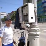 Подключение дорожного контроллера ДК-А на светофорном объекте
